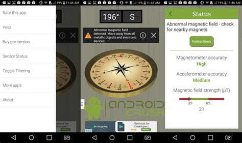 best compass for android 7 best compass apps for android 2017 android crush
