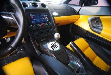 sell   lamborghini gallardo  speed manual nero