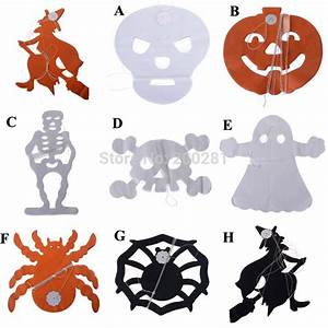 Halloween Paper Decorations