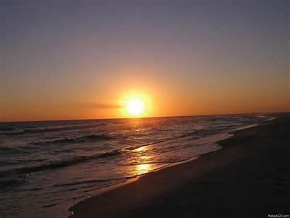 Sunset Ocean Sunsets Summer Animated Pensacola Ncs