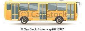 Vectors Illustration of flat design public transport ...