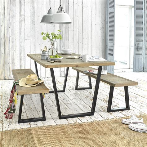 industrial style kitchen table scrumpy loaf