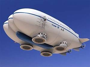 Future Aviation, Futuristic Airship, Lockheed Martin P-791 ...