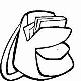 Backpack Coloring Pages Drawing Easy Dora Place Explorer Paper Print Tocolor Clipartmag Button Using sketch template