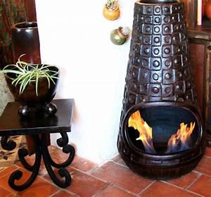Cheminée Mexicaine Terre Cuite : brasero mexicain faites place ce sombre h ros du foyer ~ Premium-room.com Idées de Décoration