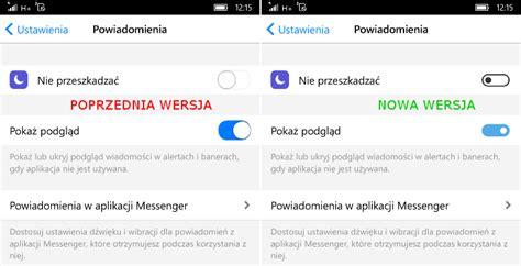 messenger z kolejna aktualizacja dla telefonow windows 10 mobile app co