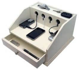 Multi Drawer Cabinet Wood by Heiden Deluxe Charging Station Valet Transitional
