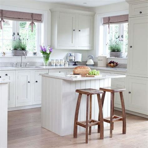 simple country style kitchens shaker style breakfast bar
