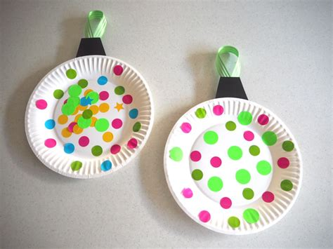 paper plate christmas bauble craft be a fun mum