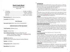 mormon blog  downloadable lds sacrament program