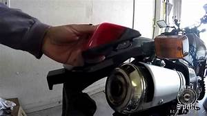 How To Install Tail Light On Suzuki Dr650