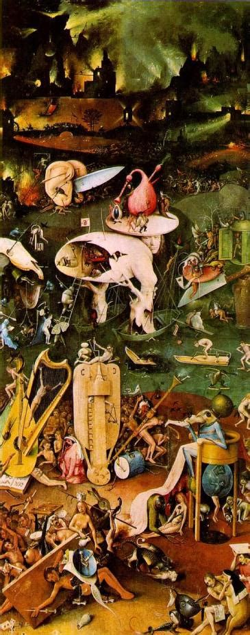 hieronymus bosch garden of earthly delights tower of babel thegatesofdamascus