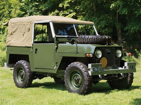 Wading Land Rover Wallpaper by 1968 Land Rover Lightweight Iia Offroad 4x4 Wheel