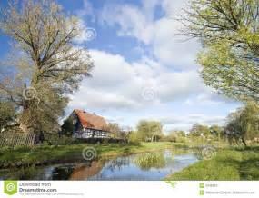 Polish Village Landscape