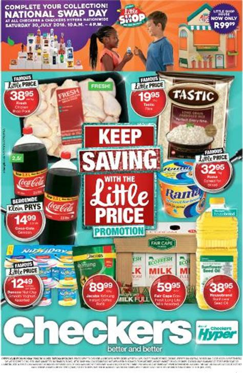 western cape checkers  price promotion  jul