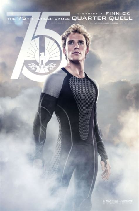 the hunger games catching fire character poster finnick