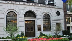 New England Historic Genealogical Society at American Art ...