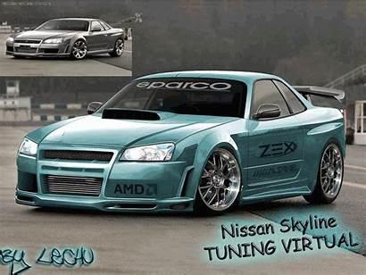 Tuning Nissan Carros Skyline Imagenes Gifs Modificados