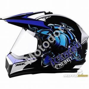 Visiere Casque Moto Casque Moto Modulable Avec Double Visi Re Teint