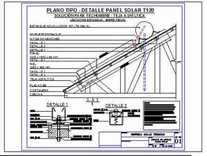 Solar Panel Anchor En Autocad