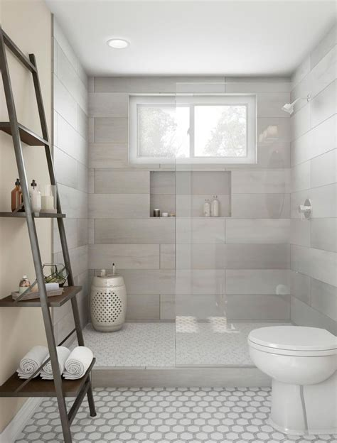 awesome farmhouse bathroom tile shower ideas walk