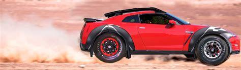 nissan dakar nissan gt r dakar rally prototype most absurd