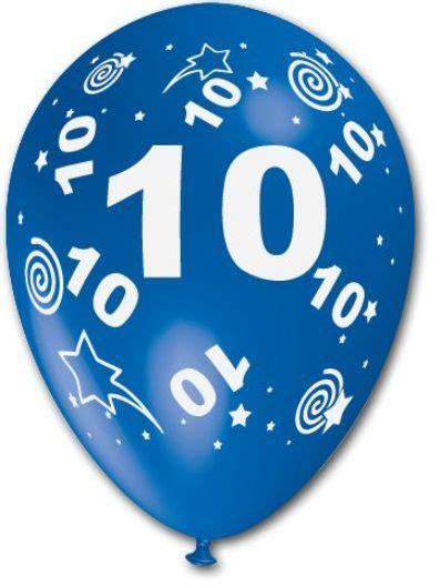 10 geburtstag deko 15 luftballons wunsch zahl 1 2 3 4 5 6 7 8 9 od 10 kindergeburtstags deko