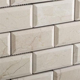 2 X 4 Crema Marfil Marble Mosaic Tile Polished & Beveled Brick