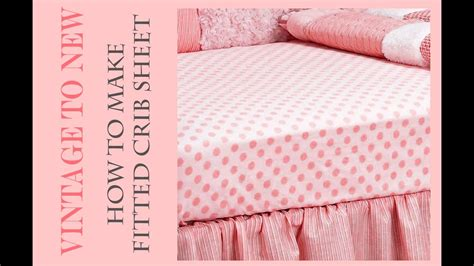 Fitted Crib Sheet Tutorial