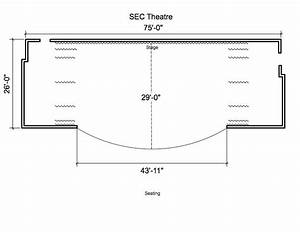 Sec Theatre Stage Diagram