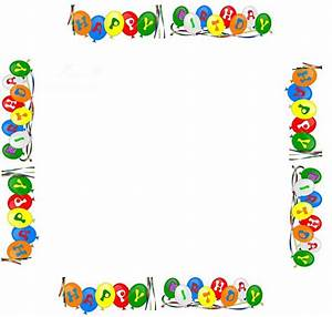 Birthday Frame Clipart (46+)