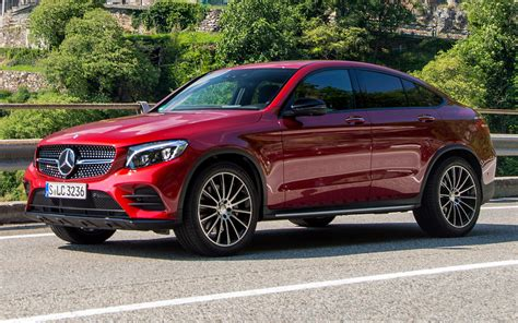 mercedes benz glc class coupe amg  wallpapers