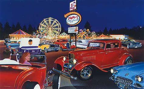 Automotive Art By Bruce Kaiser, Hot Rod Art Home Page