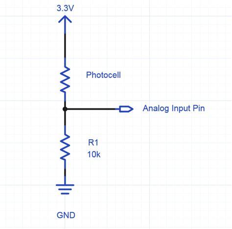 Using Photocell Phototransistor Determine Lighting