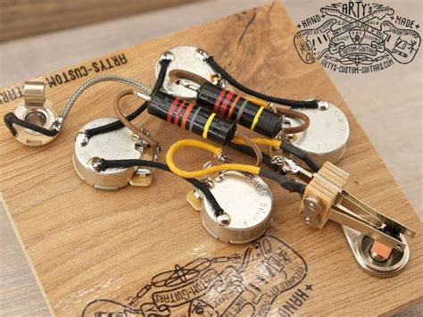Best Gibson Sg Wiring Harnes by Wiring Harness Gibson Sg Arty S Custom Guitars