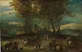 Landscape with Wayfarers (17th century) – The Ark of Grace