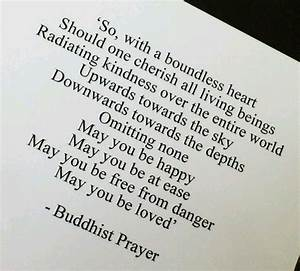 Buddhist Prayer Very Beautiful Quotes Pinterest
