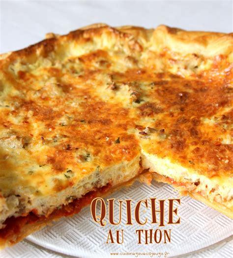 cuisine tunisienne pate au thon recette de quiche au thon tunisienne facile