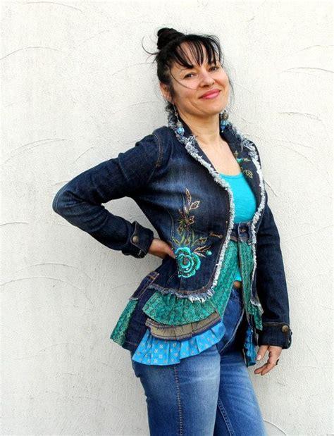 boho ls for sale 17 best images about upcycled denim jackets vests hats etc