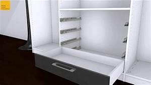 Ikea Besta Schublade : schubkasten in schrank einh youtube ~ Watch28wear.com Haus und Dekorationen