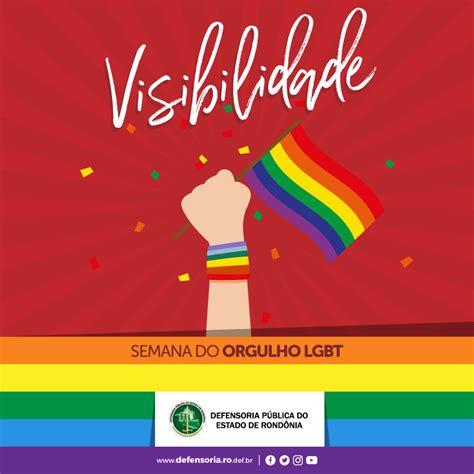 Junho é o mês do orgulho lgbt. Semana do Orgulho LGBT: Visibilidade