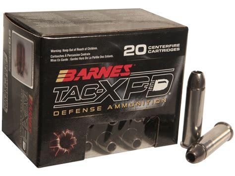 barnes tac xpd barnes tac xpd ammo 357 mag 125 grain tac xp hollow point