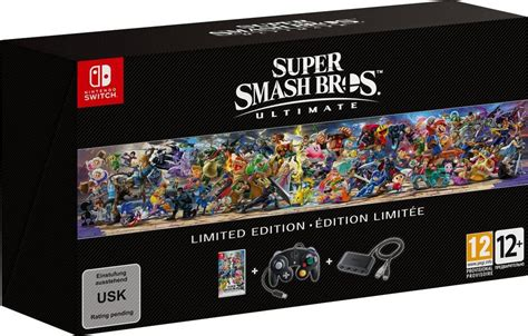 super smash bros ultimate limited edition nintendo switch