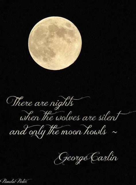 moon quote  george carlin quote text moon moon love