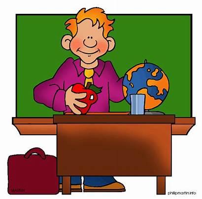 Teacher Clipart Desk Clip Clipground Help
