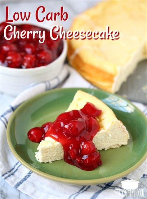 carb cherry cheesecake recipe  calorie