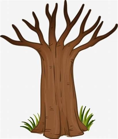 Trunk Tree Clip Clipart Arvore Desenho Printable