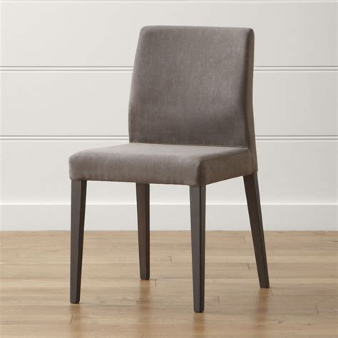 furniture islands kitchen monterey charcoal dining chair crate and barrel