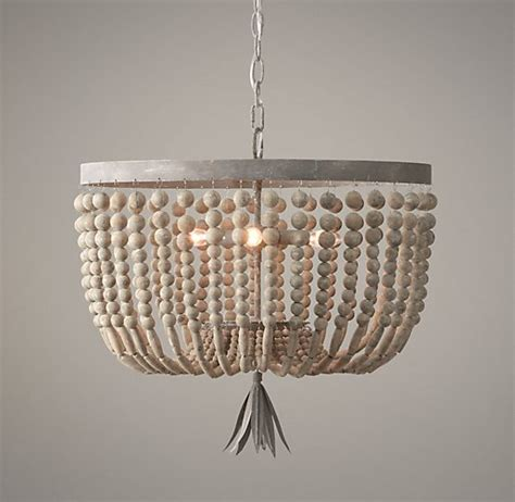 diy beaded chandelier likehearted