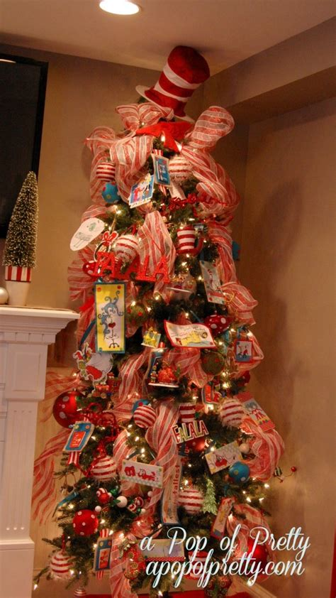 our dr seuss themed christmas tree 2012 a pop of